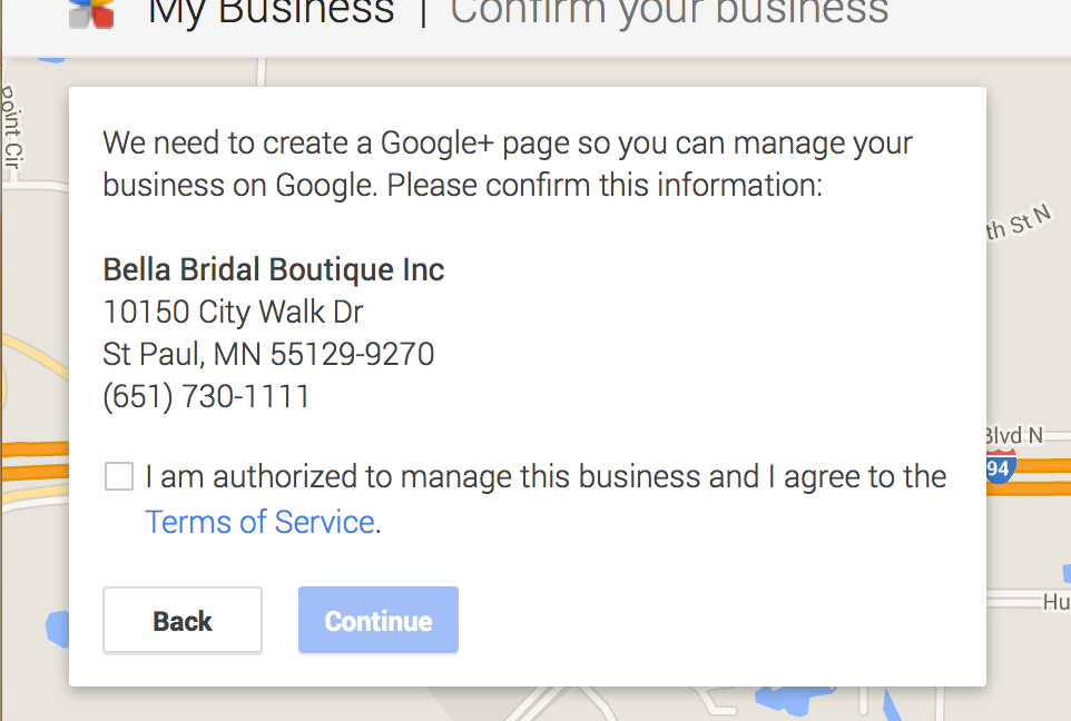 Create google plus page to manage your business
