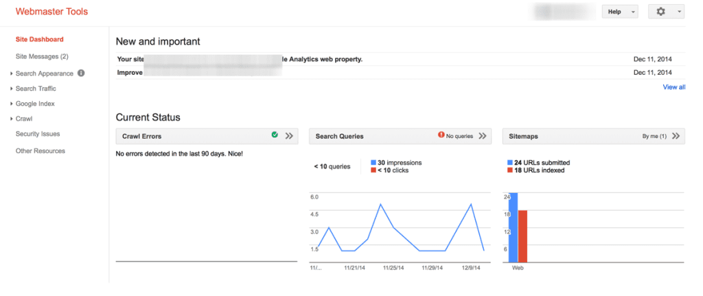 How to add a sitemap in google webmaster tools