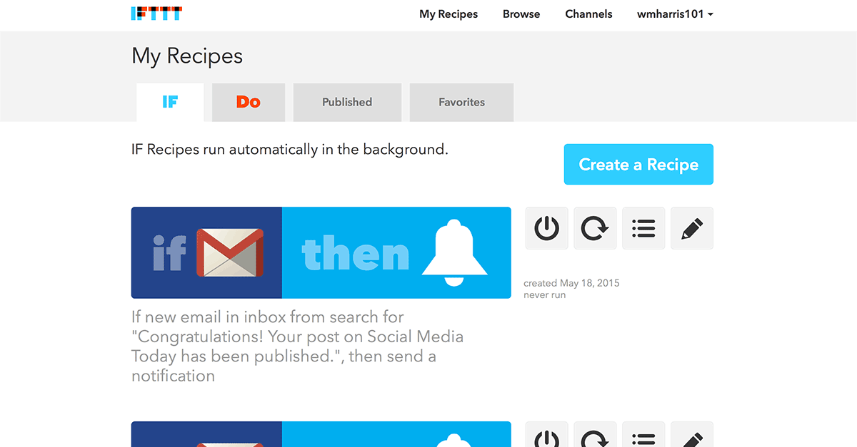 Social Media Automation with IFTTT