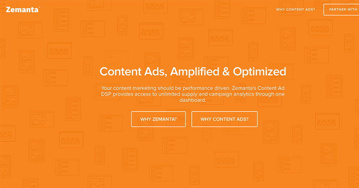 Use Zemanta for Paid Content Promotion