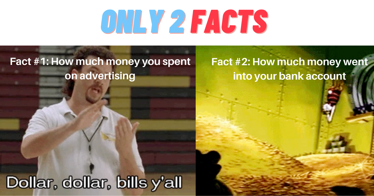 Only two facts in advertising - MER